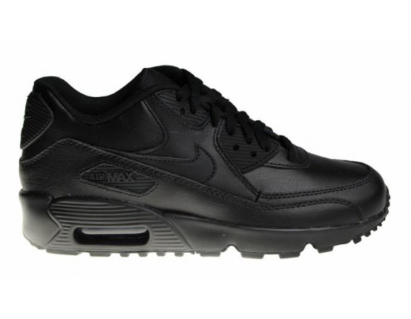 nike air max 90 heren zwart leer