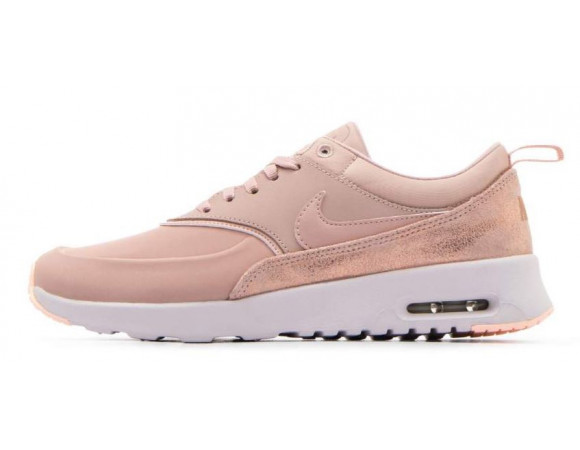 Nike Black Leather Premium Air Max Thea Sneakers •The Nike