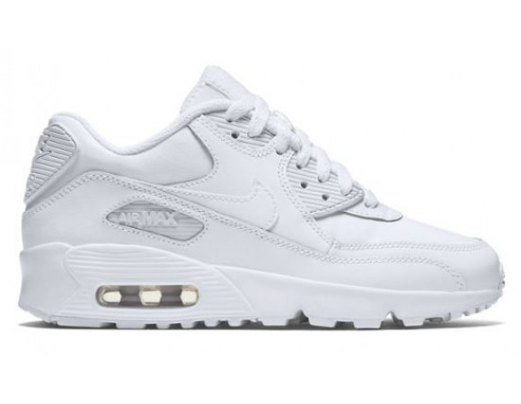 Bestel de Nike Air Max 90 Leather Wit Online