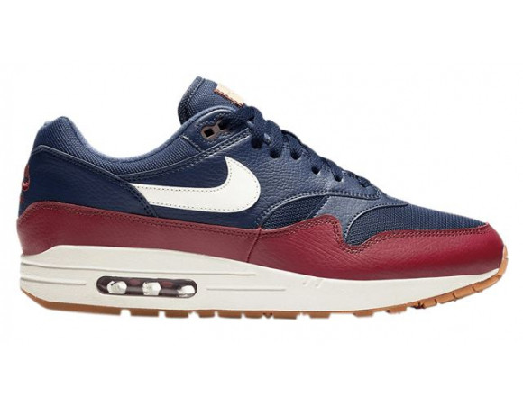 nike air max 1 rood suede