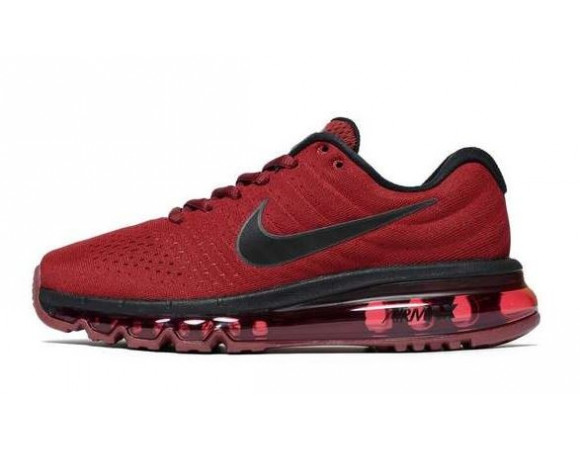 nike air max 2017 donker rood