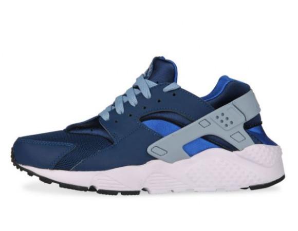 hot sale online 55304 c92f7 Nike Air Huarache Run BlauwGrijs junior  Sneakerdiscounter.n