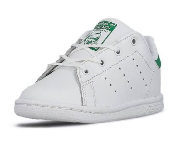 Adidas Stan Smith Junior WitGroen | Sneakerdiscounter.nl