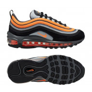 Nike Air Max 97 Sneakers Wolf Grey Orange