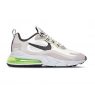 Nike Air Max 270 React Sneakers Wit Groen