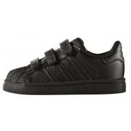 Adidas Superstar Foundation Junior Zwart/Zwart