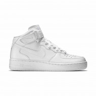 Nike Air Force 1 Mid '07 Heren - Wit
