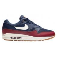 Nike Air Max 1 Blauw Rood