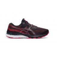 Asics Gel - Kayano 28 Black Electric Red - Heren Hardloopschoenen