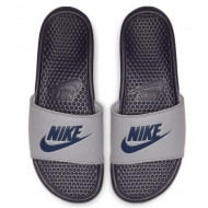 Nike Benassi JDI Slippers - Donkergrijs