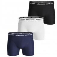 Bjorn Borg 3-Pack Boxershorts - Donkerblauw / Wit / Zwart
