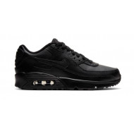 Nike Air Max 90 - Leer - Zwart - Junior
