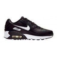 Nike Air Max 90 Leer Zwart Wit