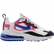 Nike Air Max 270 React Sneakers Wit Blauw Roze