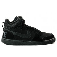 Nike Court Borought Mid Zwart