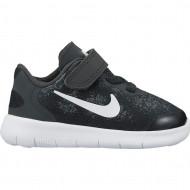Nike Free Run TD Zwart JR