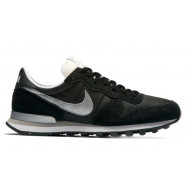 Nike Internationalist Black/Metalic Silver