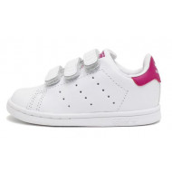 Adidas Originals Stan Smith Junior Wit/Roze